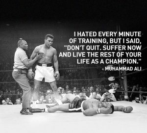 Muhammad Ali fights dyslexia only to come out a Champion